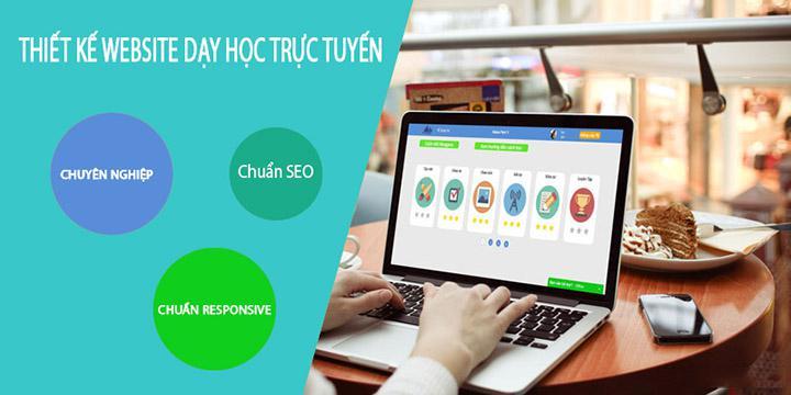 Thiết kế website dạy học trực tuyến - ApolloTech